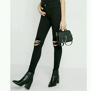 Express Jeans - New!!!!! Express high rise ripped knee jeans
